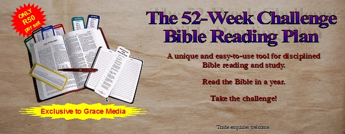 52-Week Challenge Bible Reading Plan